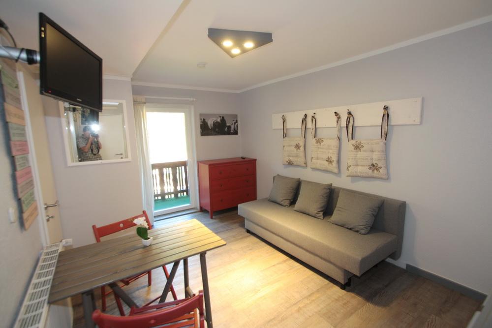 familienstudios forellenhof ferienanlage pension faaker see. Black Bedroom Furniture Sets. Home Design Ideas